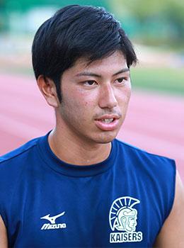 関西大学体育会アメリカンフットボール部KAISERS 4年生 入佐一輝選手
