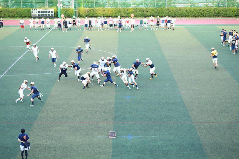 注目チーム紹介:関西大学体育会アメリカンフットボール部KAISERS