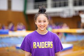 梅花女子大学チアリーディング部RAIDERS 2年生 服部怜奈