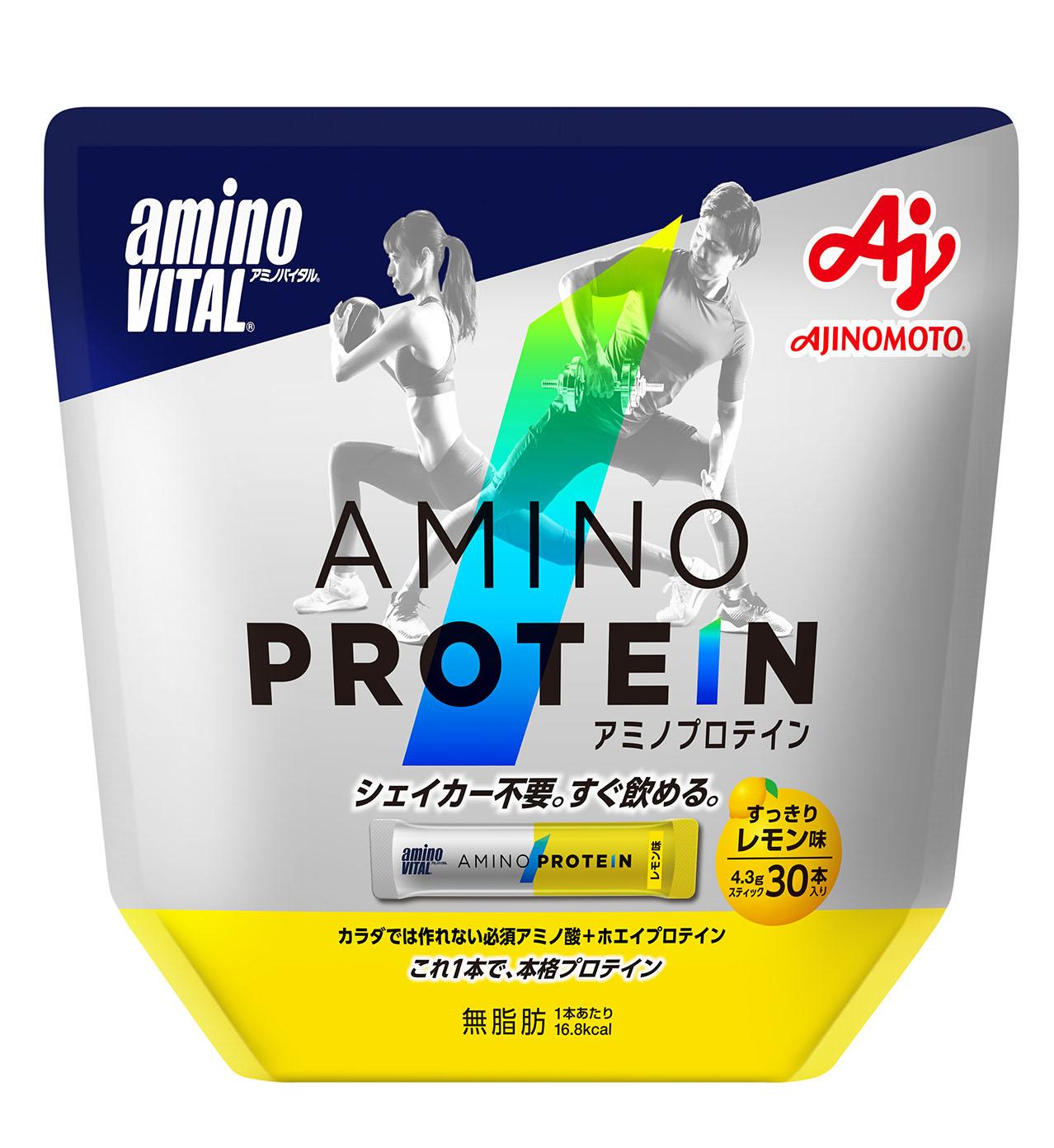 味の素株式会社 アミノバイタルⓇ アミノプロテイン レモン味 30本入パウチ