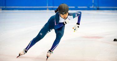 立教大学・松山雛子選手「競技以外にもいろいろな経験をすることが人間としての成長につながる」【ショートトラックスピードスケート】